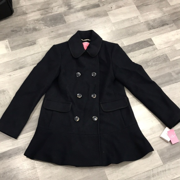 Kate spade pea coat rare find f/s size s/p💕NWT💖